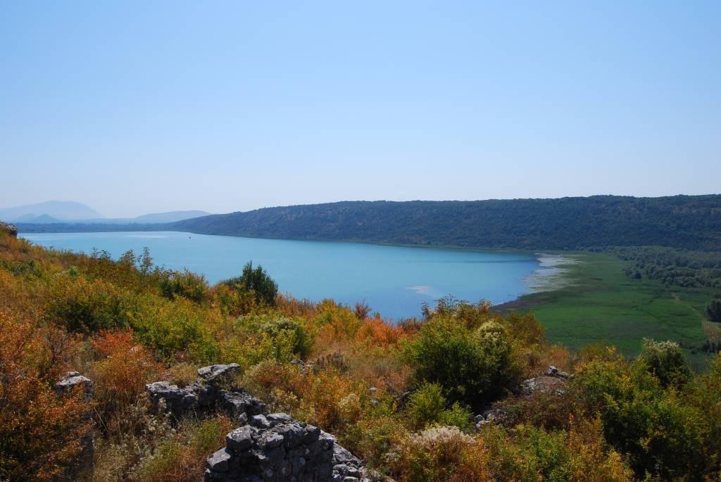 Jezioro Sasko niedaleko Ulcinja