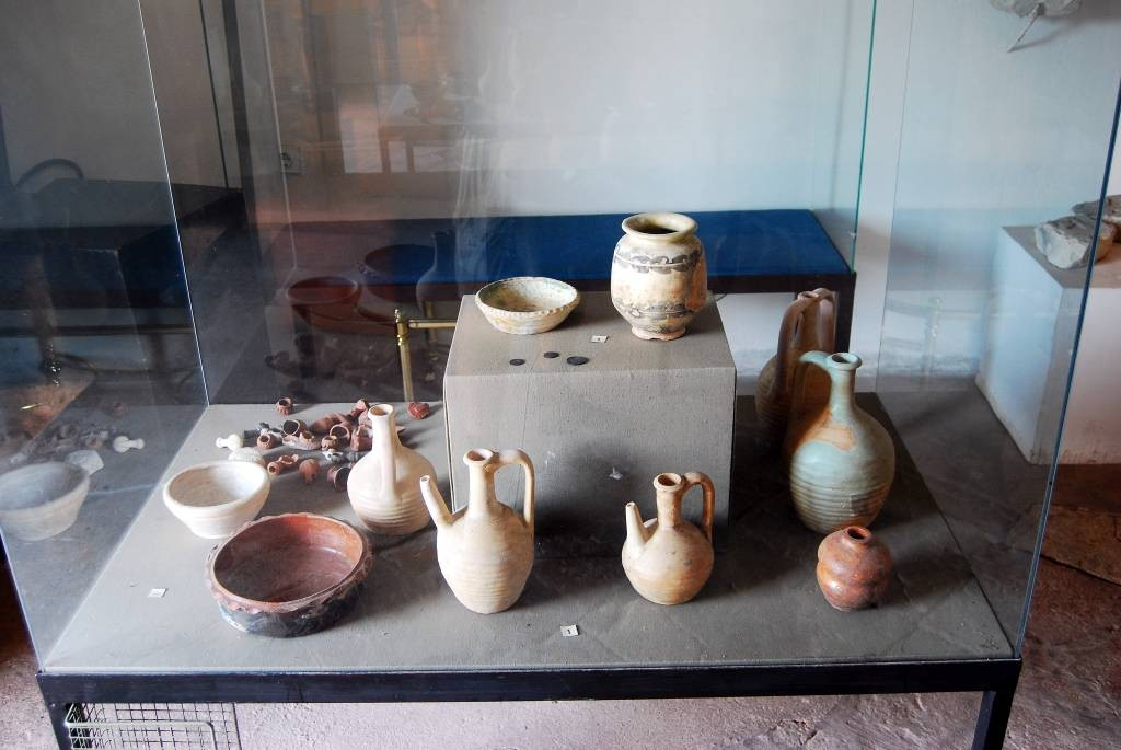 Naczynia - eksponaty w muzeum
